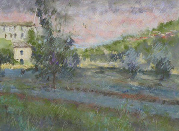 Evening in the Cervennes