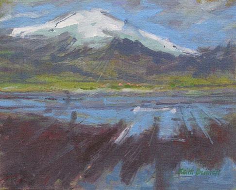Iceland glacier, Oraetajokull
