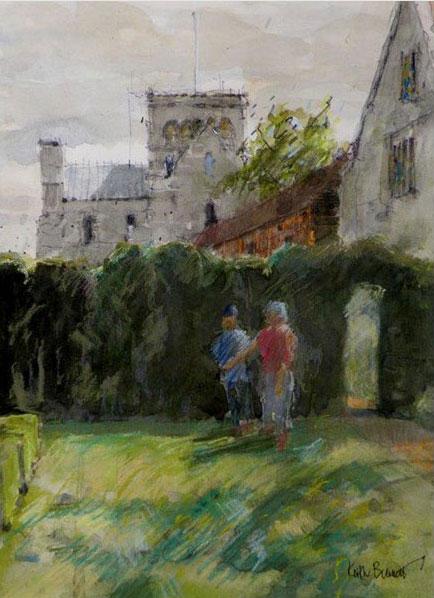 Master's Garden, St Cross